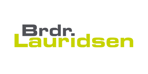 Brdr. Lauridsen logo transparent